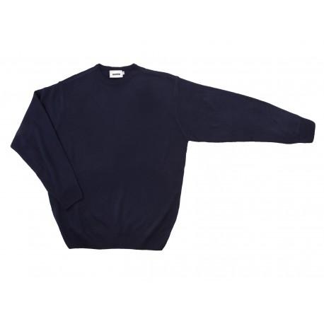 Jersey de punto fino con cuello redondo Serie 105