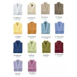 Albornoz colores 100% algodón
