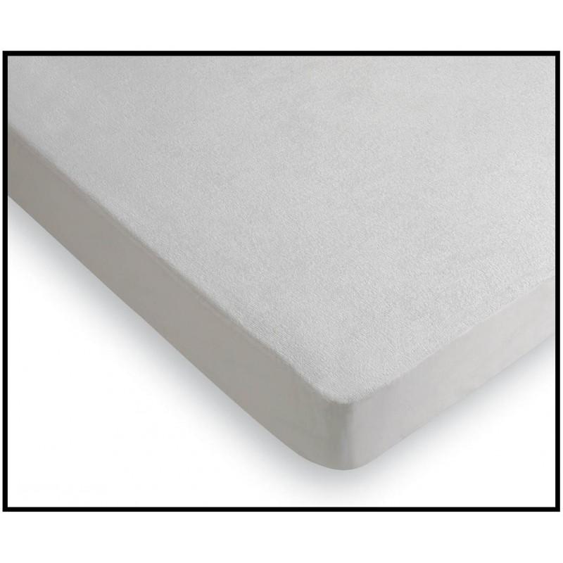 Protector colch n rizo algod n 100 pvc 16 micras rafitextil - Protector de colchon impermeable ...