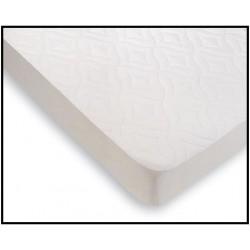 Protector Colchón Acolchado Rizo PVC