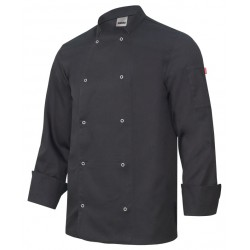 Jacket chef long sleeve with automatic Number 405206