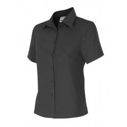 Camisa mujer entallada de manga corta Serie 538