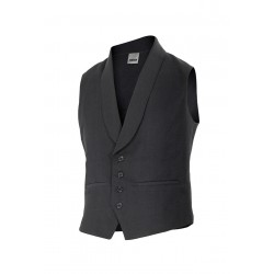 Vest waiter with a neck tuxedo Series 411