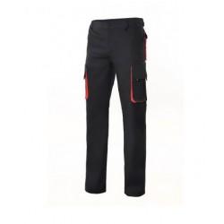 Pants bicolor multibolsillos with tissue reinforcement Series 103004
