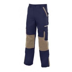 Pants bicolor multibolsillos with tissue reinforcement Series LEAD
