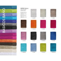 Towel Colour 100% cotton 500grs