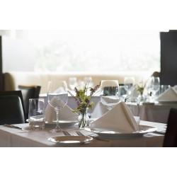 Tablecloth satin white